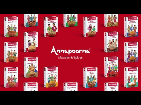 Annapoorna Masalas and Spices for authentic taste and flavour of different regions