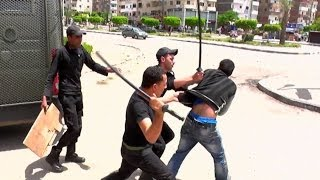 09052014 0001 VID EGY Al Azhar University Clashes logo on
