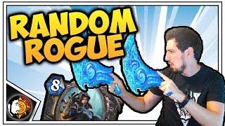 Hearthstone: Wild Random Rogue - Deck Review - Rise Of Shadows