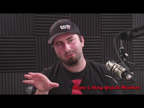Stop Quick Market's Dany featured on Red Tie Community with Bald Guy Red Tie