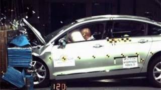 Краш-тест и видео краш-тест Citroen C5 (Ситроен С5) - Автомобильный информационный портал - AutoTurn.ru
