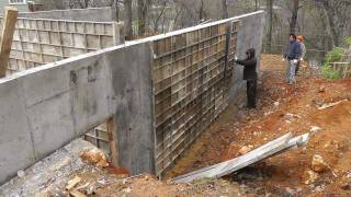 Design-build Narrow Lot Vlog #8 - Removing Concrete Forms