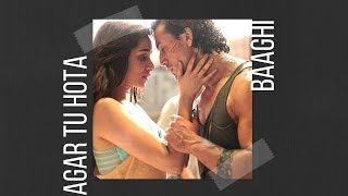 Agar Tu Hota (Baaghi-Tiger Shroff, Shraddha Kapoor) Lyric Video + Translation