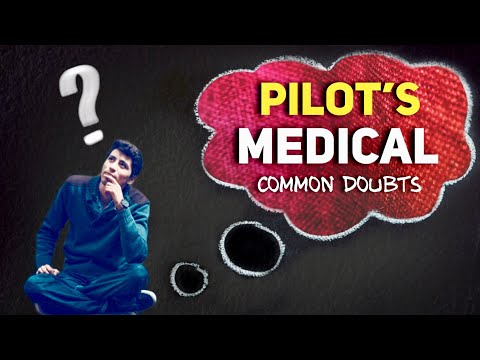 Pilot's Medical Common Doubts Answered | DGCA Class 2 & Class 1