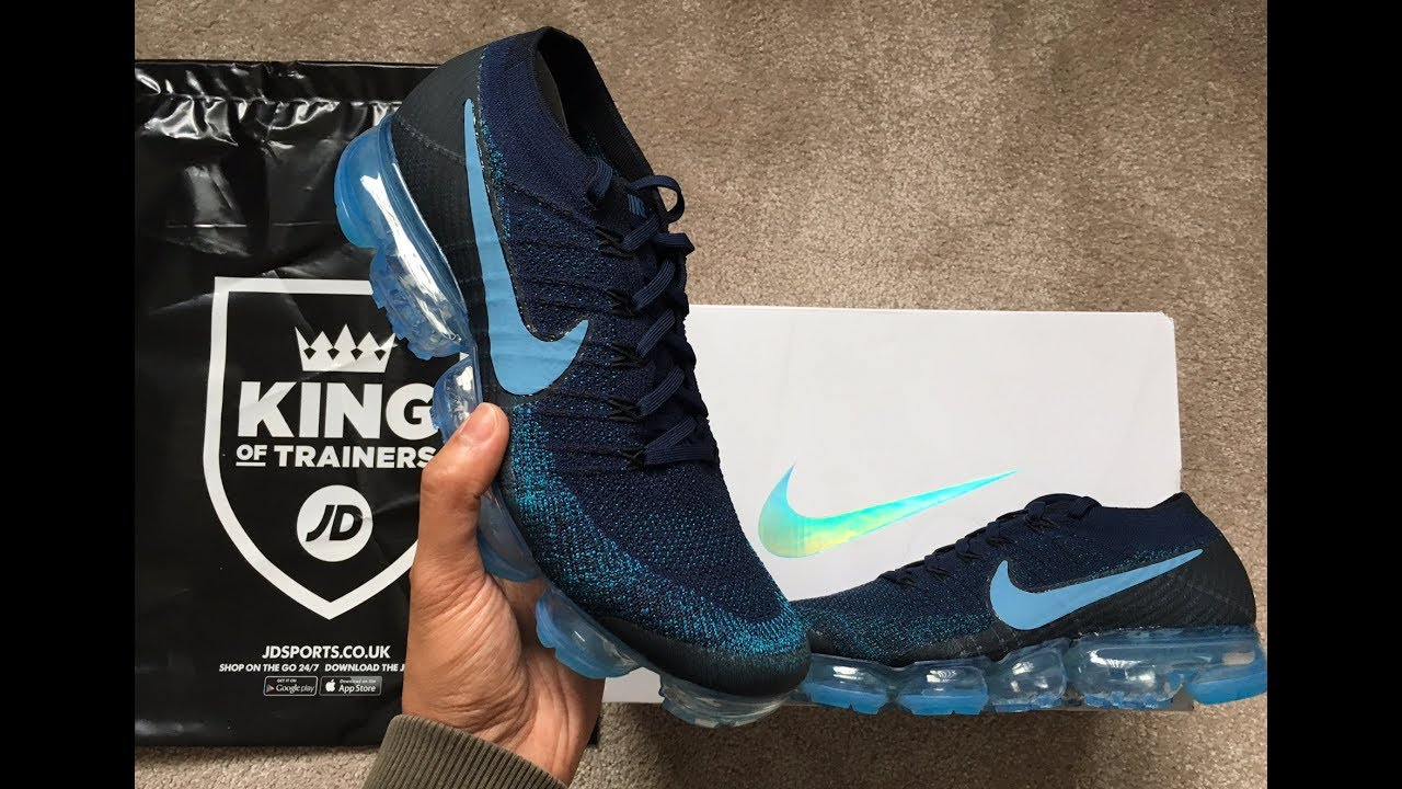 6927e35d1f Unboxing Nike Air Vapormax JD Sports exclusive - YouTube