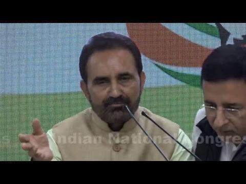LIVE: AICC Press Briefing By Randeep Singh Surjewala and Shaktisinh Gohil at Congress HQ