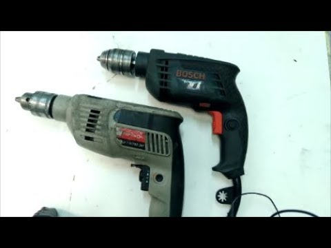 Как снять патрон с электродрели видео