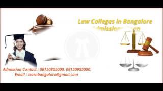 law colleges in bangalore direct admission 08150855000