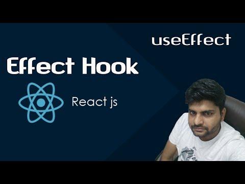 ReactJS Tutorials in Hindi | React useEffect Hook | useState | Part-23 thumbnail