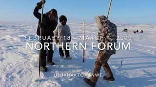 Northern Forum 2020 (Ulukhaktok, NT)