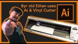 How To Cut Vinyl on a Roland GX-24 using Adobe Illustrator