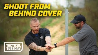 Tactical Tuesday: How To Shoot From Behind Cover