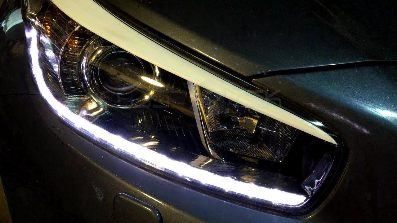 Kia Ceed Naprawa Regeneracja Repairment Fix światła Dzienne Drl