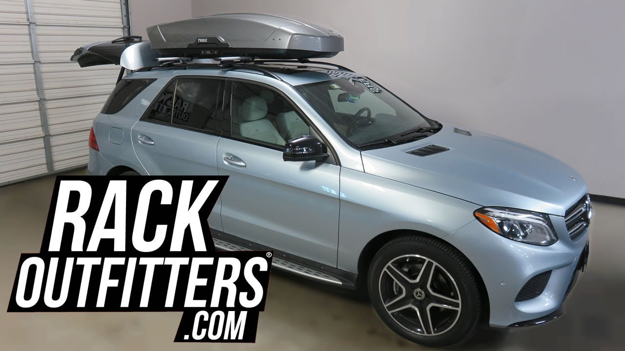 Mercedes Benz Gle Suv With Thule Motion Xt Xl Roof Top