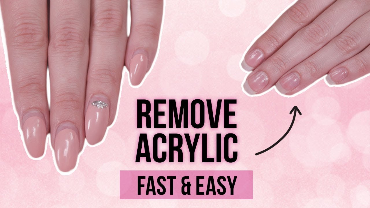 Soaking Nails In Acetone - Nail Ftempo