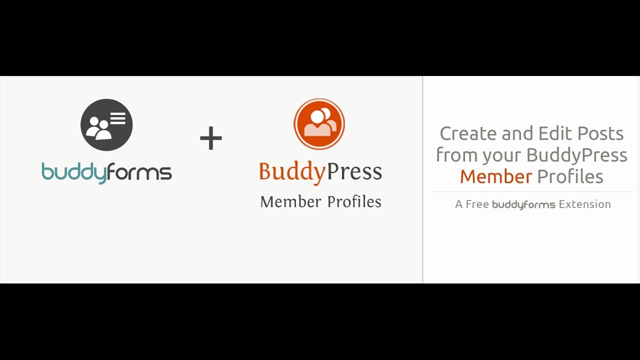BuddyForms Members – WordPress plugin   WordPress org