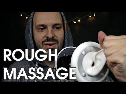 ASMR Rough Ear Massage