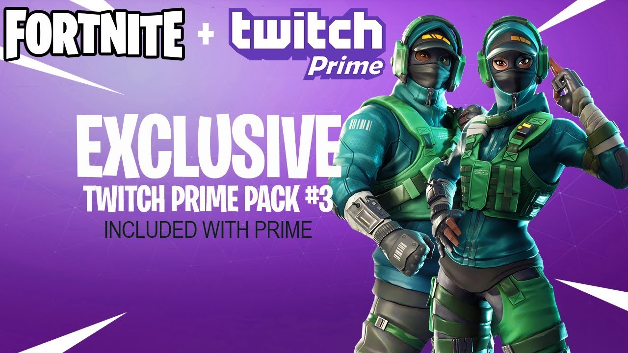 Fortnite Twitch Prime Pack 3 Release Date