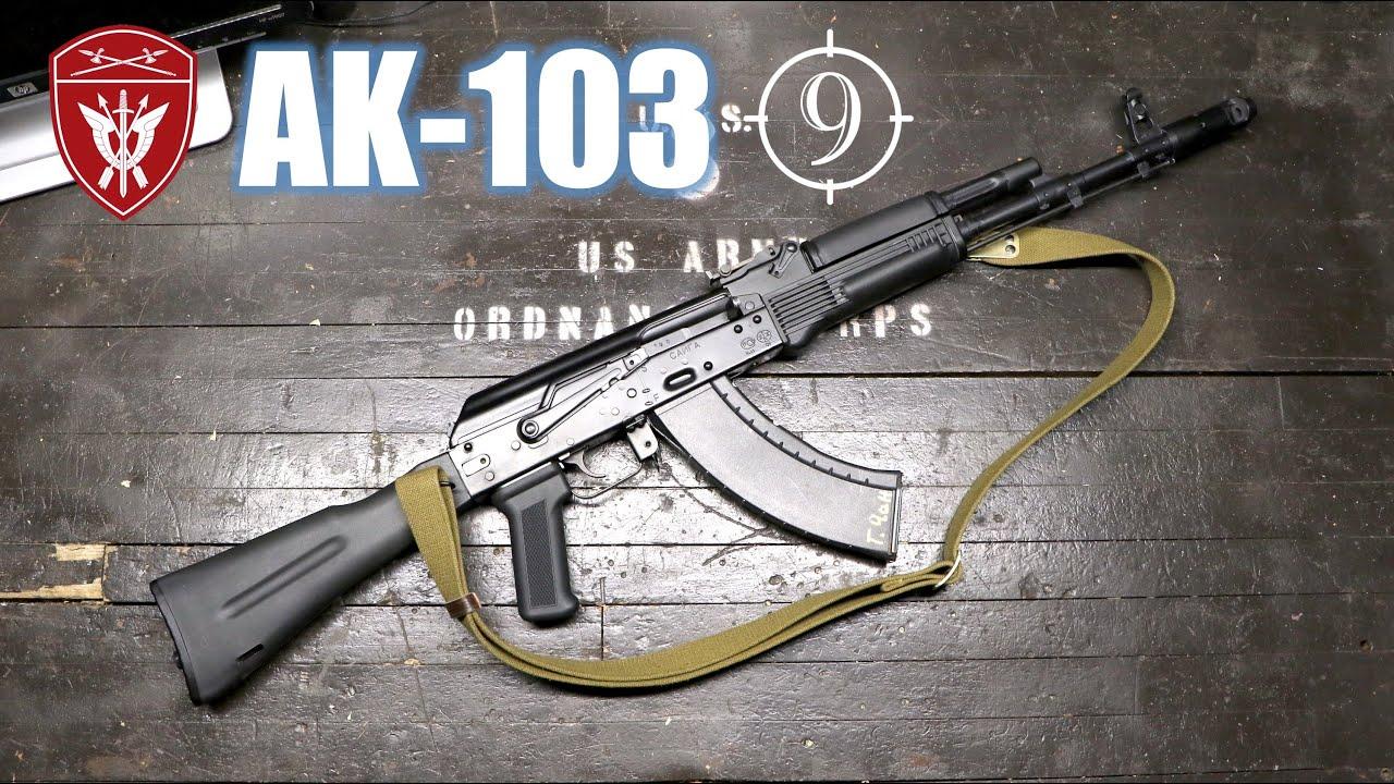 AK 103 - The last 7.62x39 by Mikhail Kalashnikov (Feat. Vladimir Onokoy)