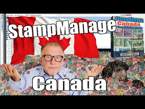 Canadian Stamp Collecting Software - StampManage Canada