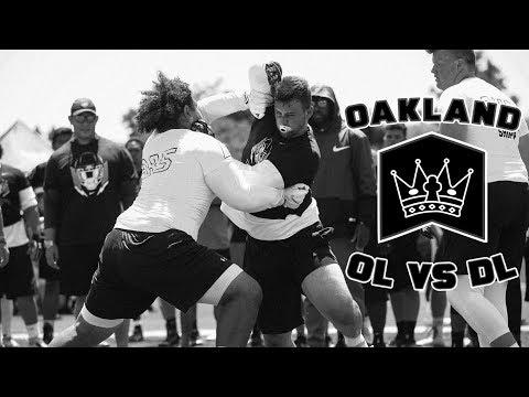 Nike Football's The Opening Oakland 2017   OL vs DL