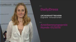 """Interview: DailyDress, Anerkennungspreis """"Gründerwettbewerb - Digitale Innovationen"""""""
