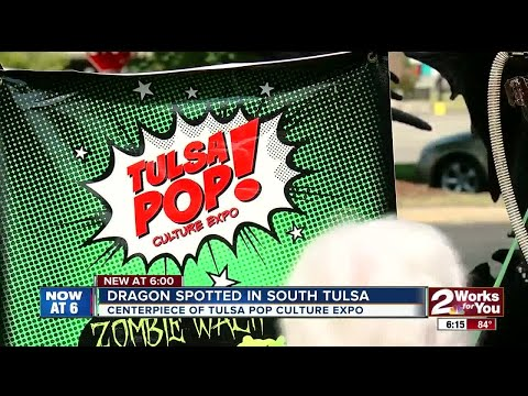 Dragon spotted in South Tulsa