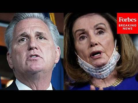 'Madam Speaker, You Don't Know The Facts Or The Science': McCarthy Assails Pelosi For
