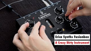 Erica Synths Fusionbox - A Crazy Dirty Analog Feedback Instrument