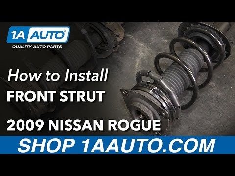 How to Replace Front Strut Assembly 08-11 Nissan Rogue