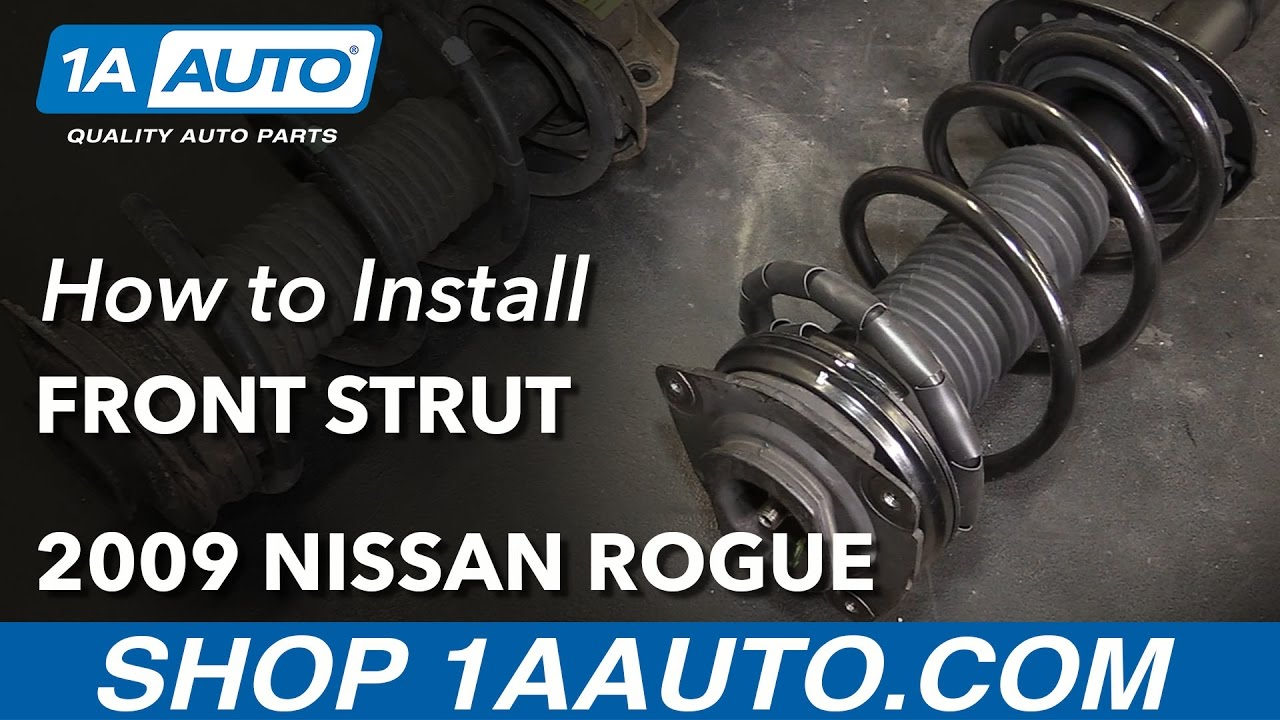 How To Replace Front Strut Embly 08 11 Nissan Rogue