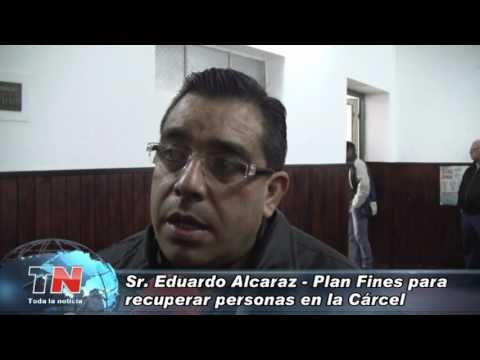 Eduardo Alcaraz: Plan Fines para personas que se encuentran privadas de su libertad.