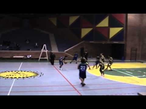 Santiago Belalcazar Best plays in school and in warriors basketball club