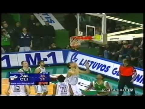 2005 Euroleague Zalgiris Kaunas vs Climamio Fortitudo Bologna Top 16