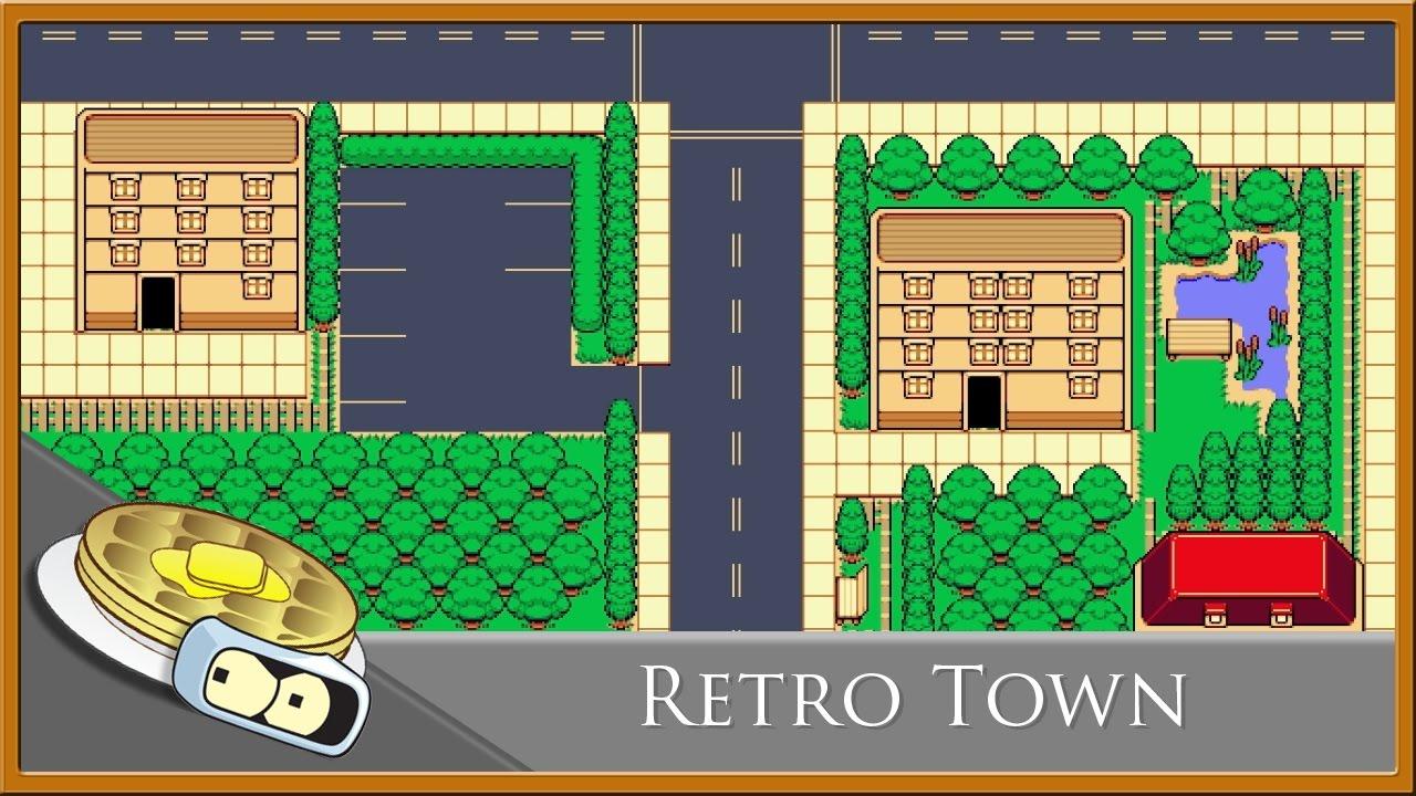 Retro Town Speed Development - RPG Maker VX Ace