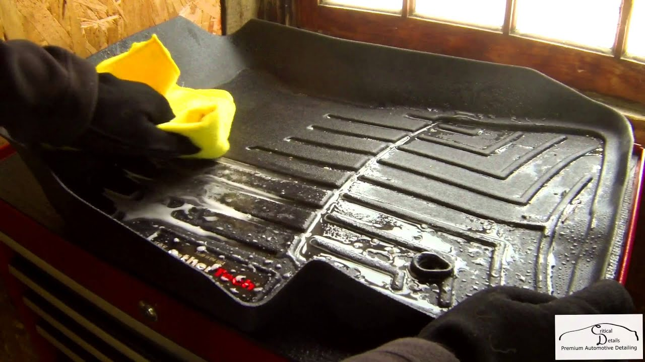 Weathertech mats cleaner - Weathertech Floorliners Review Interior Car Detailing Burlington Vt 05401 Youtube