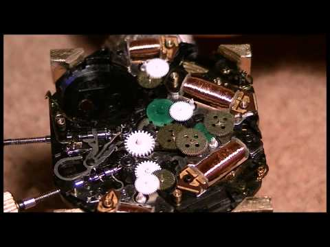 How to disassemble a 7T32 movement - Part 6