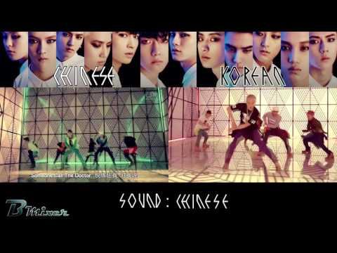 EXO - Overdose | Chinese - Korean MV Comparison (ver.B)