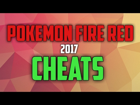 Pokemon Fire Red Cheats For GBA4iOS | IOS 10.1-10.2.1 2017 FOR CODEBREAKER AND ACTION REPLAY