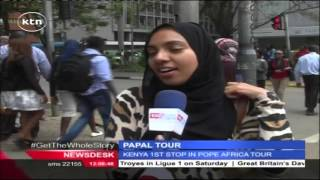 Kenyans' views ahead of Pope Francis' visit
