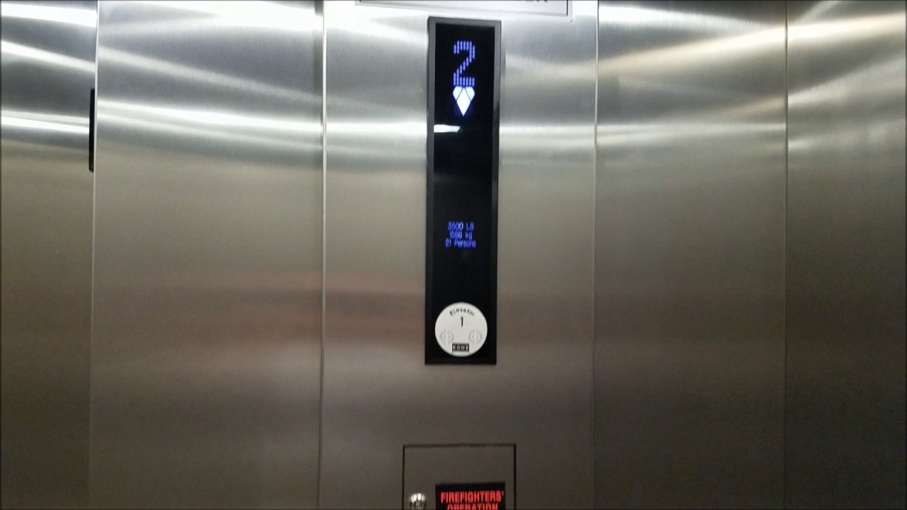Boring 2013 Kone EcoSpace Elevator at a Hotel