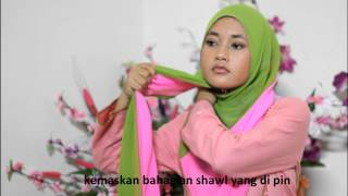 shawl tutorial two tone style2