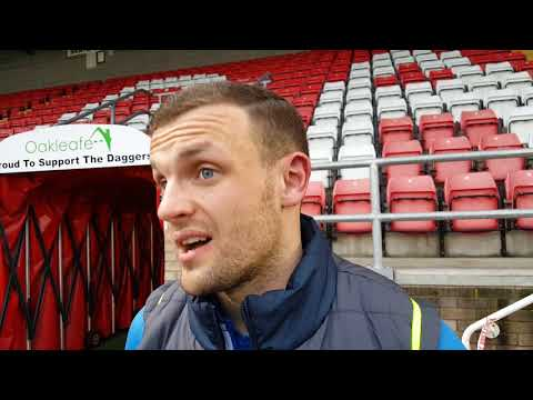 Post-Match | James Wallace (Dag & Red)