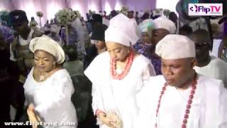 OONIS WIFE OLORI WURAOLA IN ILESA BADE FAREWELL TO TOYIN KOLADES MOTHER
