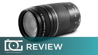 CANON EF 75-300MM F/4-5.6 III Telephoto Zoom Lens | REVIEW