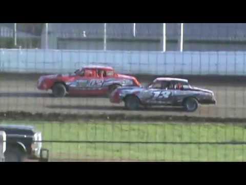Factory Stock Heat Race Humboldt Speedway 4/25/17