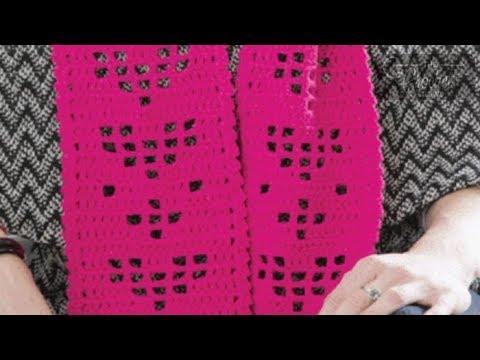 How To Crochet Filet Crochet Stitch Youtube