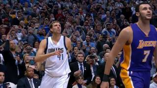 Download Dirk Nowitzki - 30000 point game - Tributes and Extended Highlights Mp3 and Videos