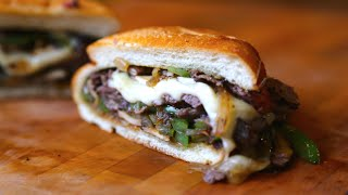 Best Leftover Philly Cheese Steak Slider   SAM THE COOKING GUY