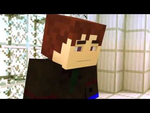 My brother plays minecraft dantdm minecraft animation - Diamond minecart clones ...